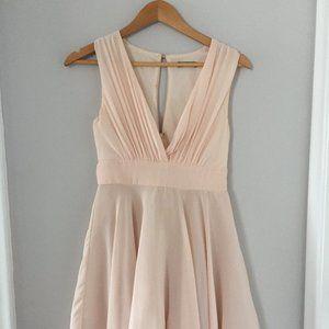 TFNC London Blush Pink Dress